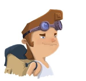 avatar clumsy confiado sin linea